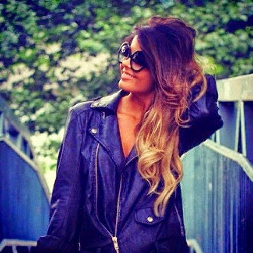 Ombre Hair Love the color WHEN MY HAIR IS LONG ENOUGH}