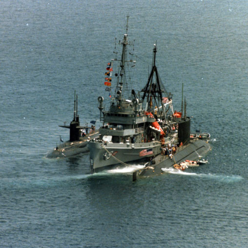 USS Florikan (ASR 9) off Avalon Harbor 1984 http://bit.ly/aZfcPf