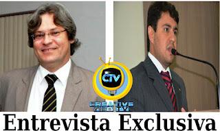 Juiz e Promotor da 25º Zona Eleitoral confirmam entrevista exclusiva na Creative TV