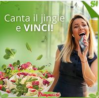 Logo Canta il Jingle, #Dimmichecanti e vinci voucher TicketOne, cofanetti Boscoli e card Kasanova + 200 punti Lovby