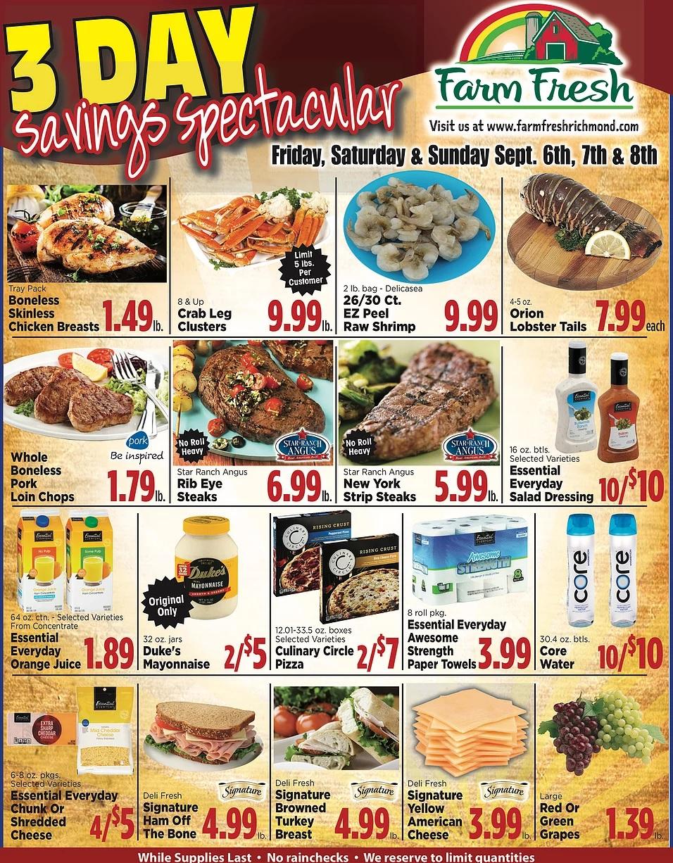Farm Fresh Weekly Ad
