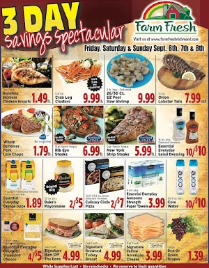 Farm Fresh Weekly Sales Ad September 4 - 10, 2019