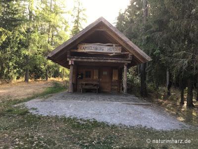 Hütte vom Harzclub am Kapitelsberg