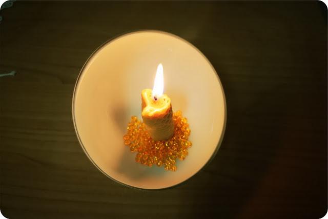 creare con i bambini fare candele