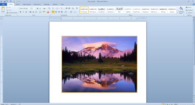 Cara Membuat Border Pada Gambar Di Microsoft Word Cara Membuat Border Pada Gambar Di Microsoft Word