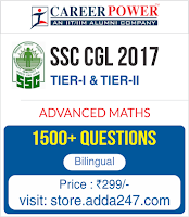 Advanced Maths For SSC CGL 2017 Online Test Series