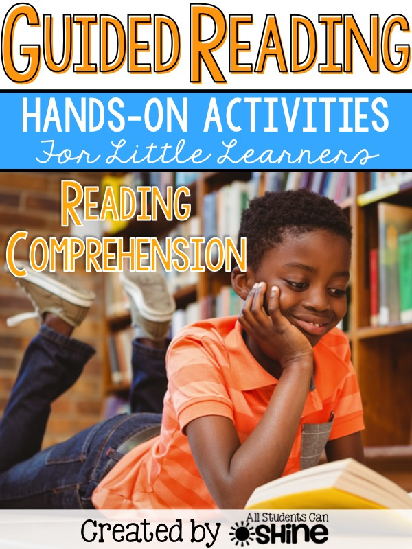 guided reading comprehension games
