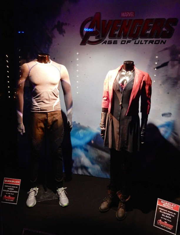 Avengers Ultron Quicksilver Scarlet Witch costumes