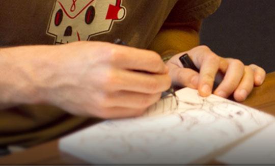 Prácticas de Verano en Pixar en animación, diseño gráfico y arte