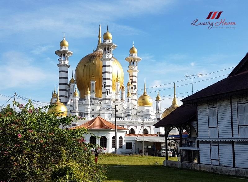 perak tourist attractions masjid ubudiah kuala kangsar