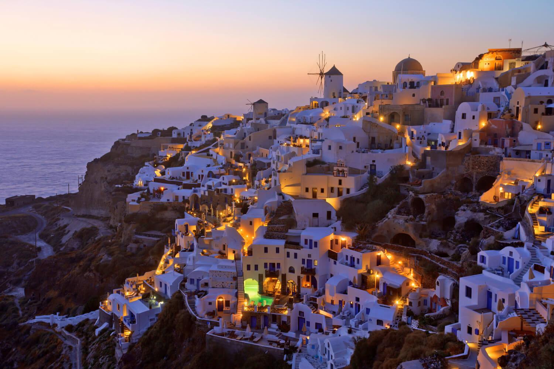 Santorini Yunanistan