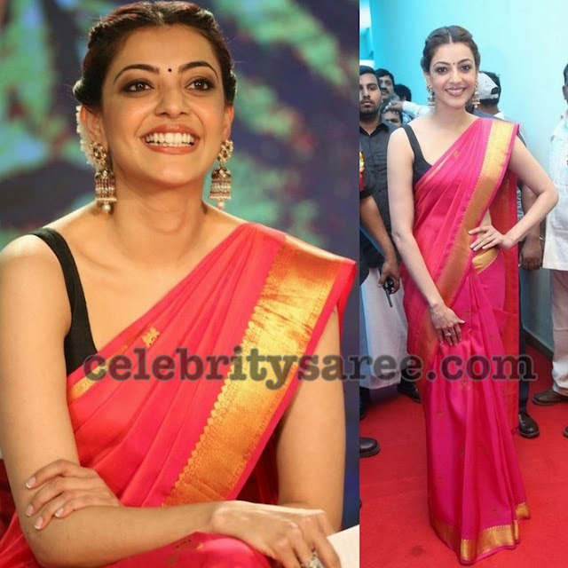 Kajal Soft Silk Saree in SIlk