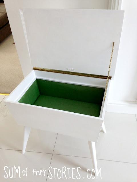 Mandala Painted Sewing Box