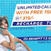 T24 offers Unlimited voice calls for Local and STD with Free 1GB 3G data usage