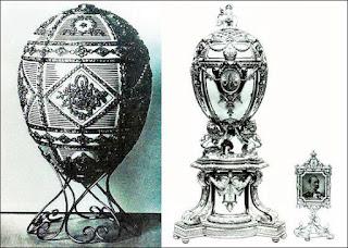 Huevos Imperiales perdidos de Fabergé