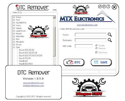 التشخيص الرائع DTC Remover