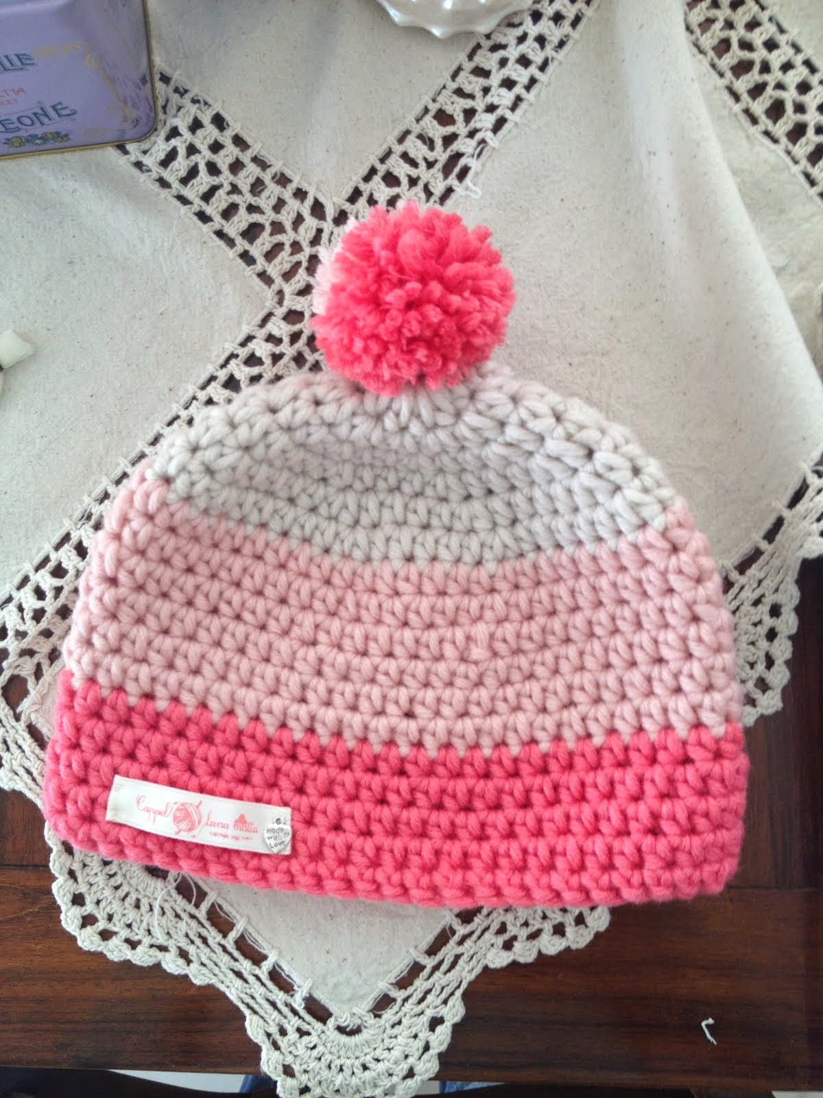 My last crochet hat