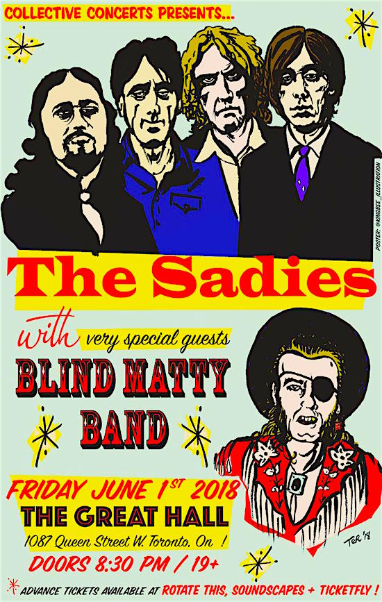 The Sadies @ The Great Hall, June 1