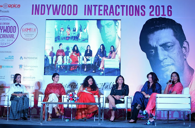 Women Power at Indywood Film Carnival -Session with the Pink Starcast-min