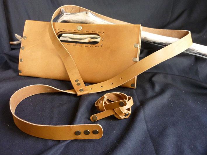 1622b0439d Handmade leathercraft Leather tobacco-pouch Θηκες καπνου ...