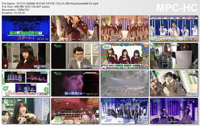 161210 AKB48 SHOW! ep135 (Keyakizaka46 SHOW!) Sub Indo