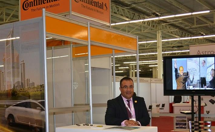 Daniel Sánchez Peñaflor, Gerente de Desarrollo de Proveedores de Continental, participó en el panel Electronics Supply Chain in México durante el Aerospace Meetings Guadalajara 2014. (Foto: VI)