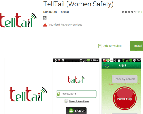 Women,Safety,Android App,