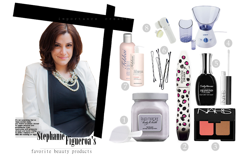stephanie, legal fashion style, work week chic, nyc, 9 to 5 style, career, interview wear, beauty products collage