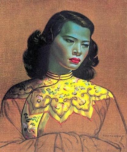 """Vladimir Tretchikoff, """"Chinese Girl"""" (1953)"""