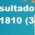 Resultado Lotomania/Concurso 1810 (31/10/17)