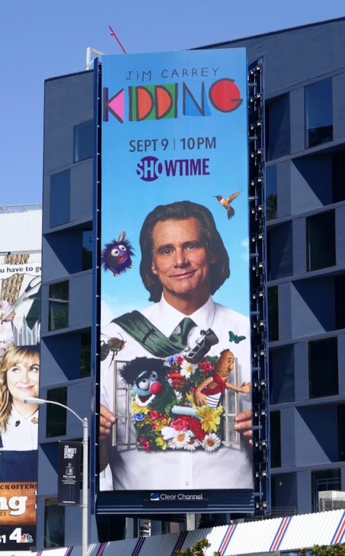 Jim Carrey Kidding series billboard
