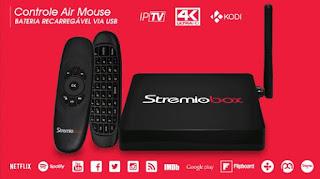 STREMIOBOX - STREMIOBOX IPTV NOVO APLICATIVO CANAIS - 21/04/2017