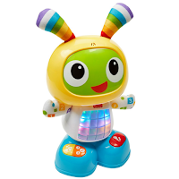 Bebo le robot coloré, rigolo et éducatif.