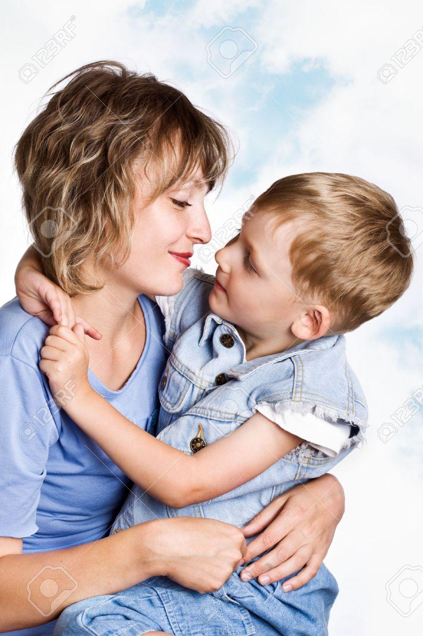 Mom end son