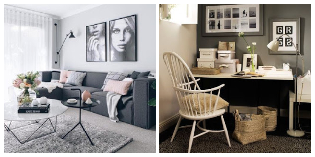DECORATING WITH GREY