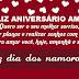 Mensagem de Aniversário  Parabéns amor