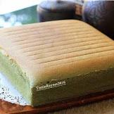 Resep Ogura Cake Green Tea Lembutnya Selembut Kapas Bund