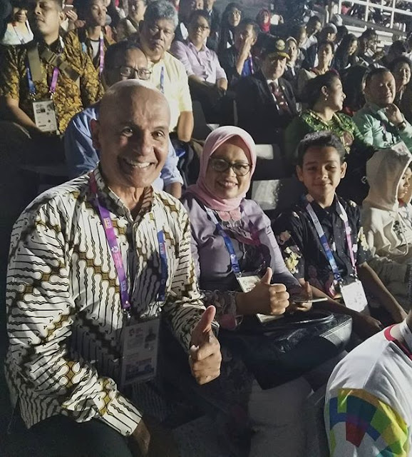 Ayah Shireen Sungkar Terharu Lihat Bangku Istri Anies di Pembukaan Asian Games
