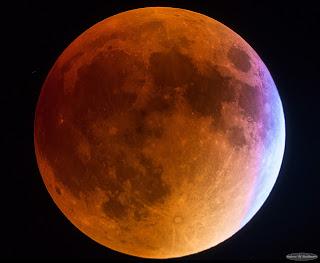Blue Supermoon Lunar Eclipse