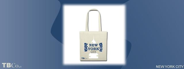 Bolsa de tela con diseño inspirado en New York City y el popular Times Square