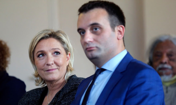 Marine Le Pen with Florian Philippot