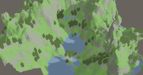 Here Dragons Abound: Perlin Noise, Procedural Content