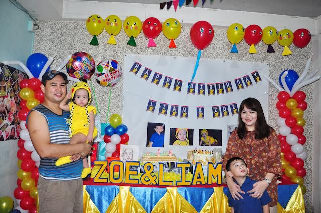 First Birthday, Baby Girl, SAHMandKIDS, sahm, Kids, Liam, Baby Photoshoot, Pikachu Theme, Pokemon Party, Birthday Party Ideas, Pikachu Baby, Vlog, Awesome Family, Games, Costume Party, DIY Party, Momma Apple,