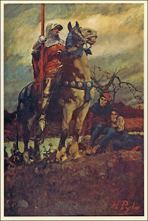 Howard Pyle - Mounted Knight