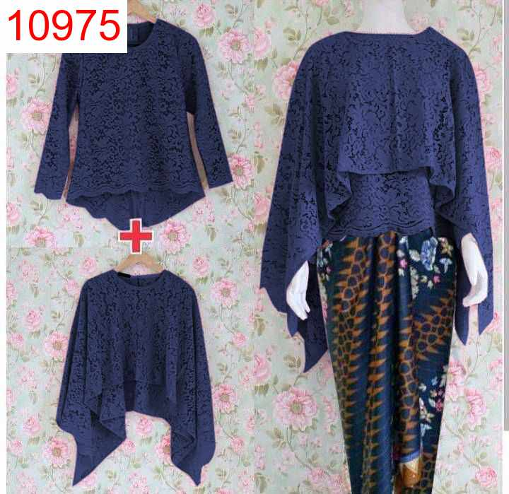 SET KB JENITA 3IN1 MELATI NAVY - 10975