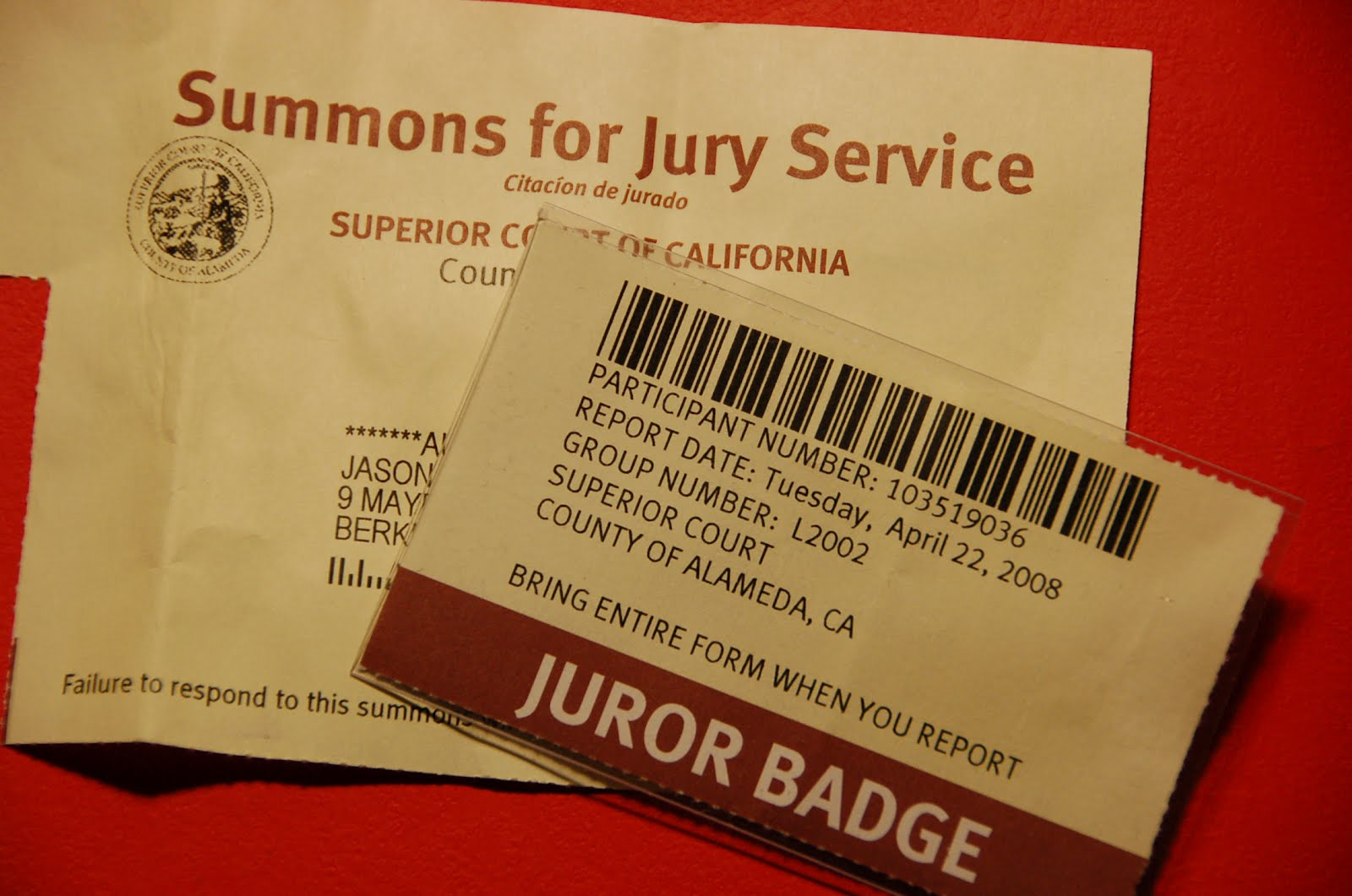 CRIME, GUNS, AND VIDEOTAPE: Jury Duty, Reasonable Doubt and