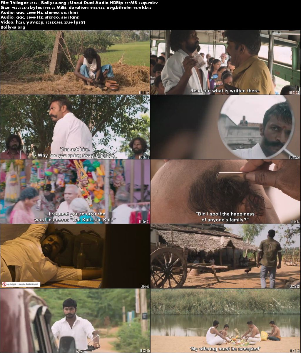 Thilagar 2015 HDRip 900MB UNCUT Hindi Dual Audio 720p Download