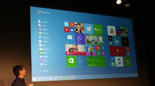 """مايكروسوفت تزيح الستار أخيرا عن ويندوز 10 """" Windows 10 """""""