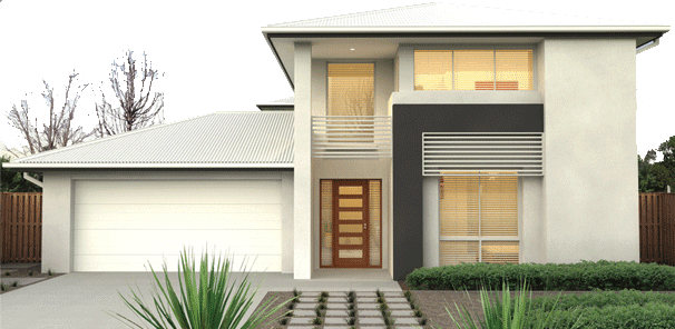 New home designs latest simple small modern homes for Simple modern house models