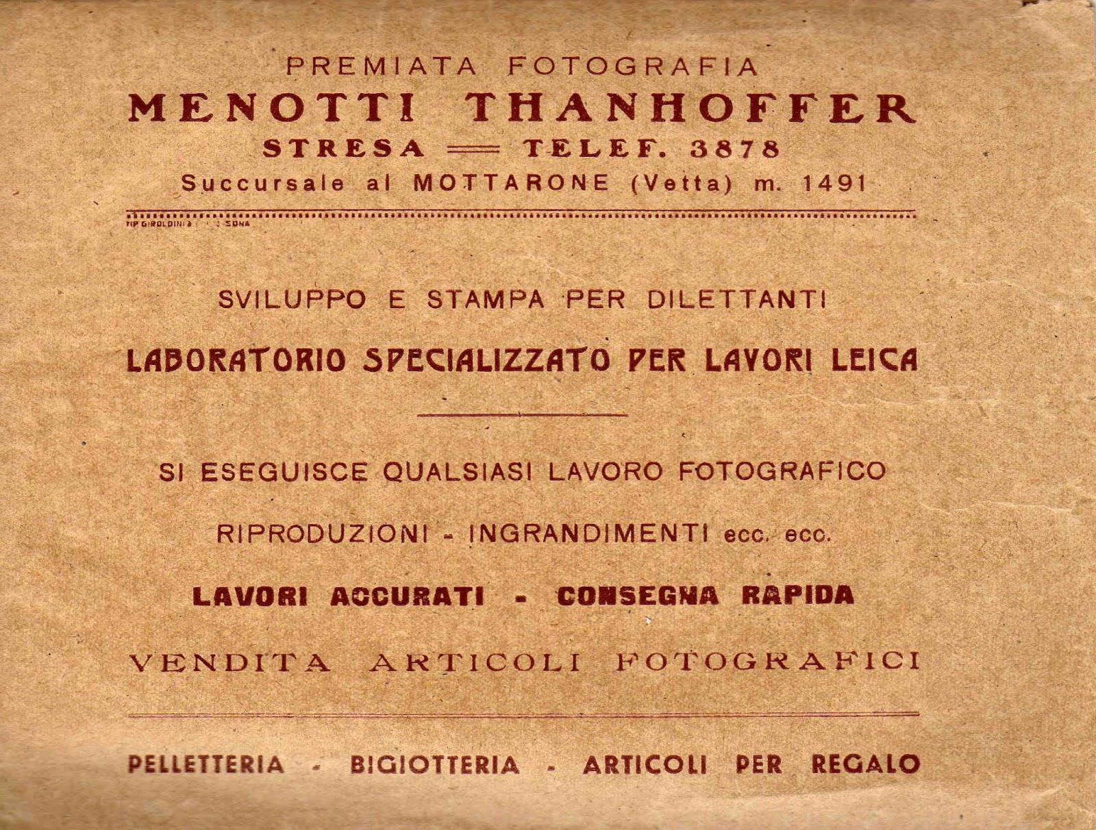 Spot merciali pubblicati su Il Gazzettino tra il 1950 ed il 1960